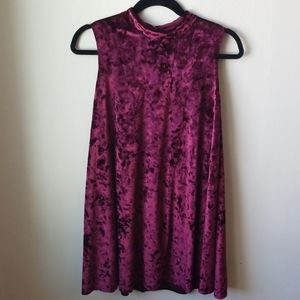 Ava and Yelly, crushed velvet dress, like new